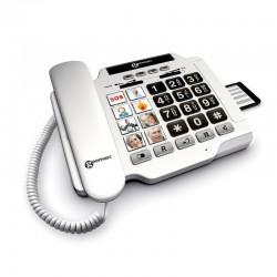 Téléphone filaire Photophone 100 larges touches