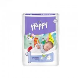 Couches bébé Happy de 2 à 30kg (Taille 1 à 6)