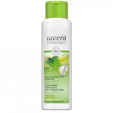 Shampooing Fraîcheur & anti-cheveux gras Lavéra Bio 250ml