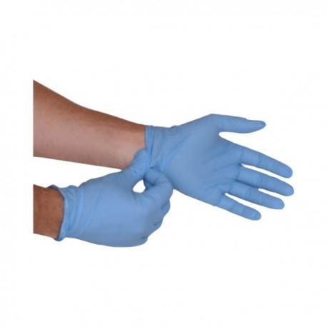 CA Diffusion gants d'examen nitrile bleu (boite de 100)