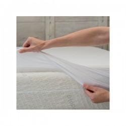 Drap housse alèse 90 x 200 cm B-Dermofresh Select gris