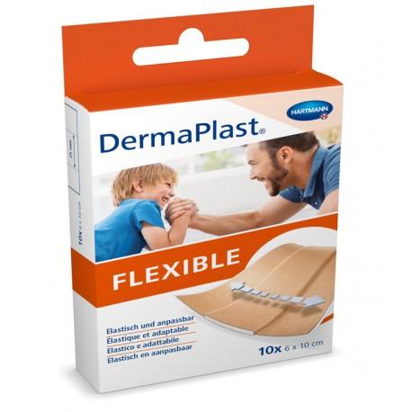 Hartmann DermaPlast Flexible 6x10cm Pièces 10