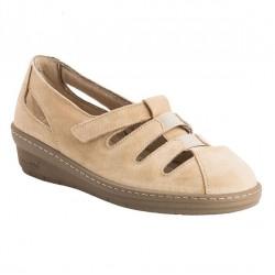 Chaussure Confort Femme CHUT BR-3039 couleur beige