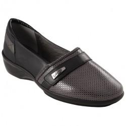 Chaussure Confort Femme CHUT AD-2000 noir/gris