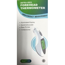 Thermomètre sans contact Forehead FT-100B fourni avec sa pile