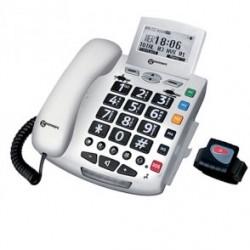 Téléphone CL600 fonction SOS bracelet+médaillon