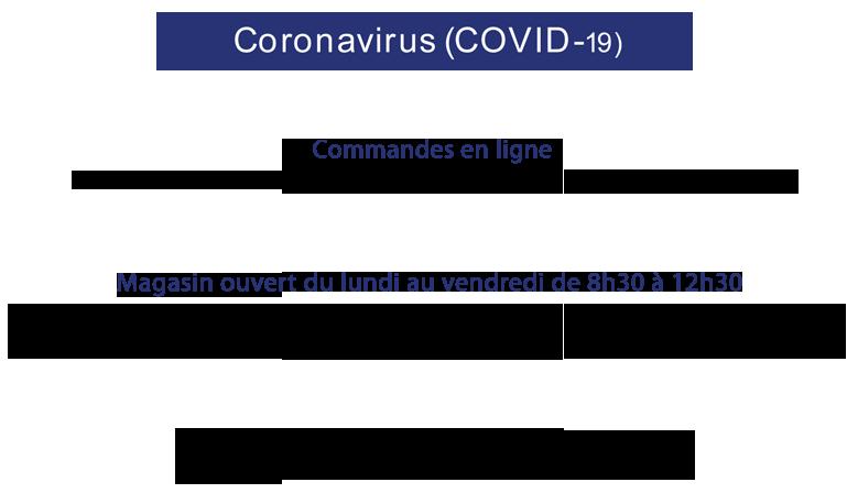 COVID-19 à votre service pendant cette période